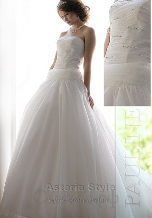 Свадебные платья с кружевом.