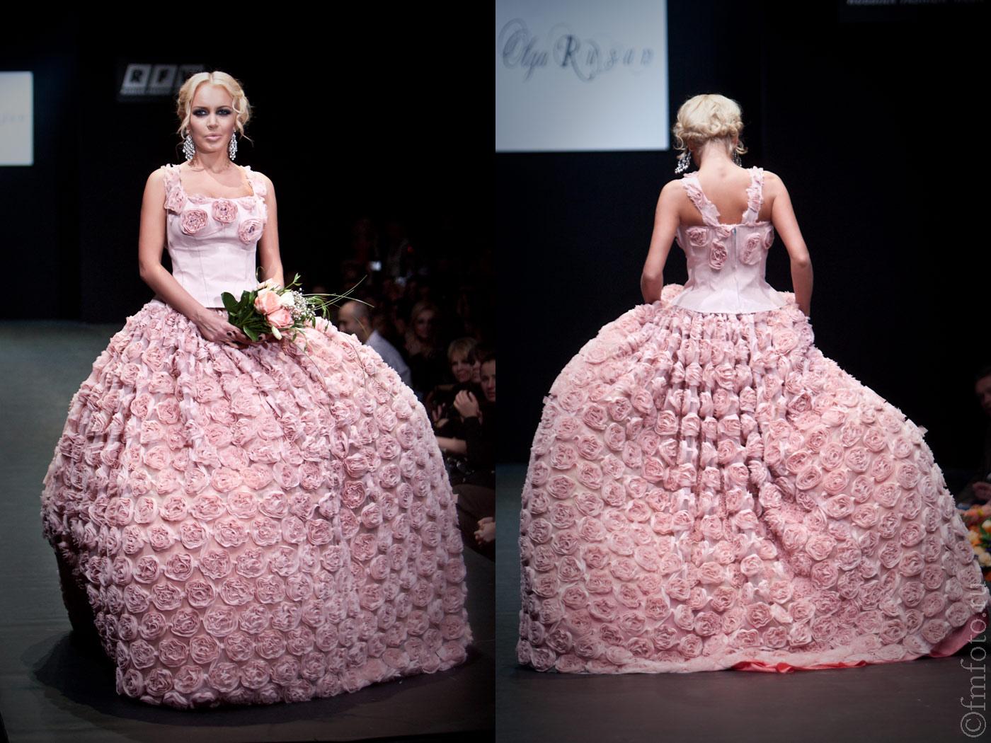Комментарий: Русские свадебные платья фото
