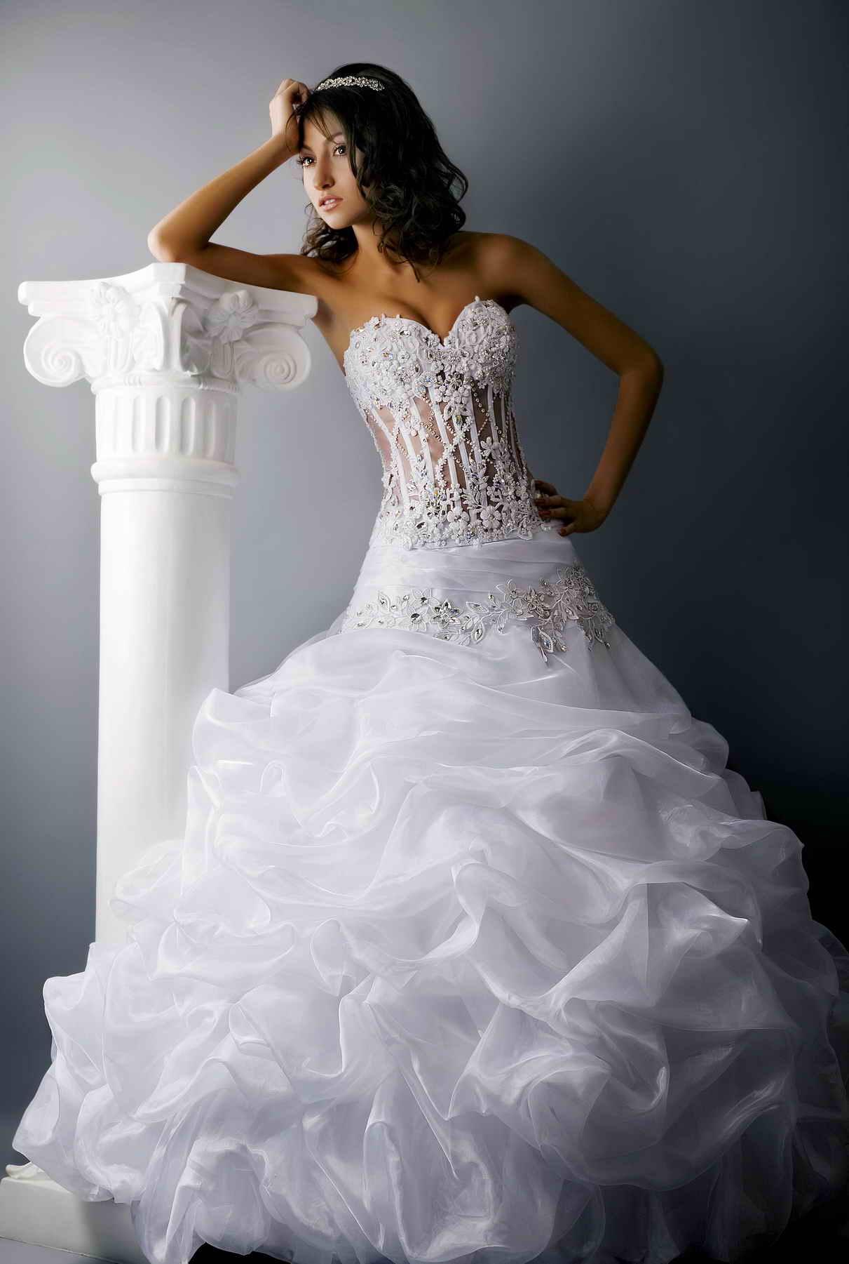платья свадебные в греческом стиле