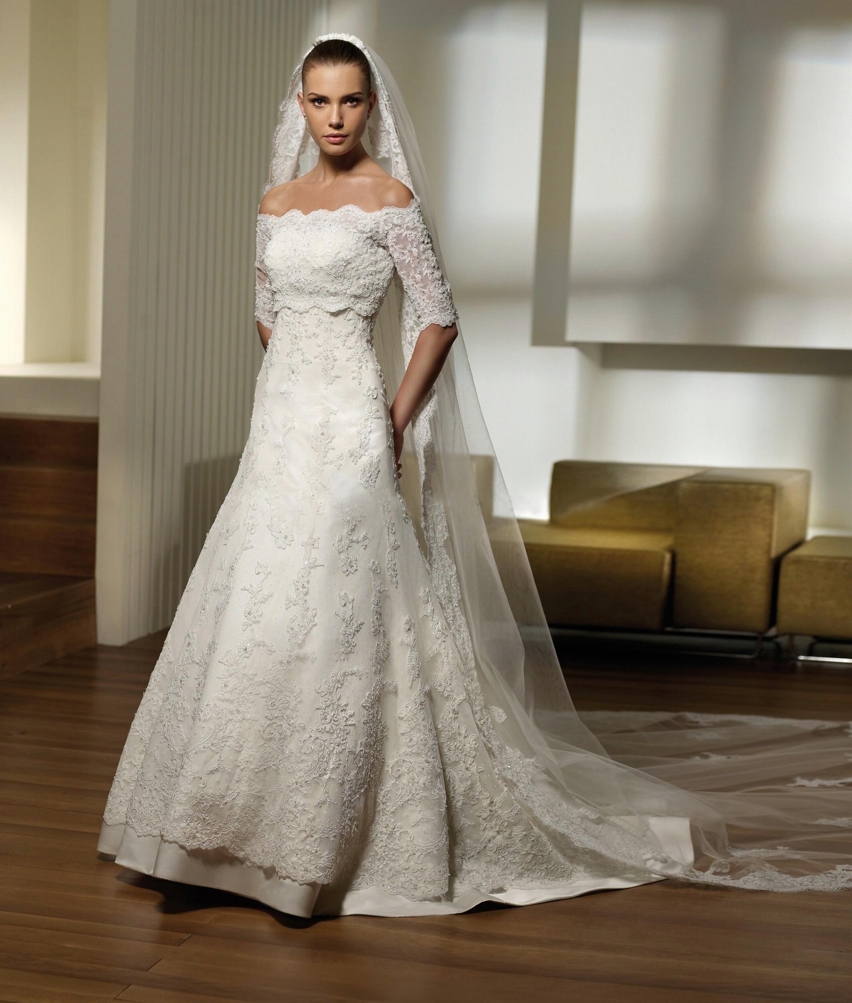 Свадебные платья - polka_1