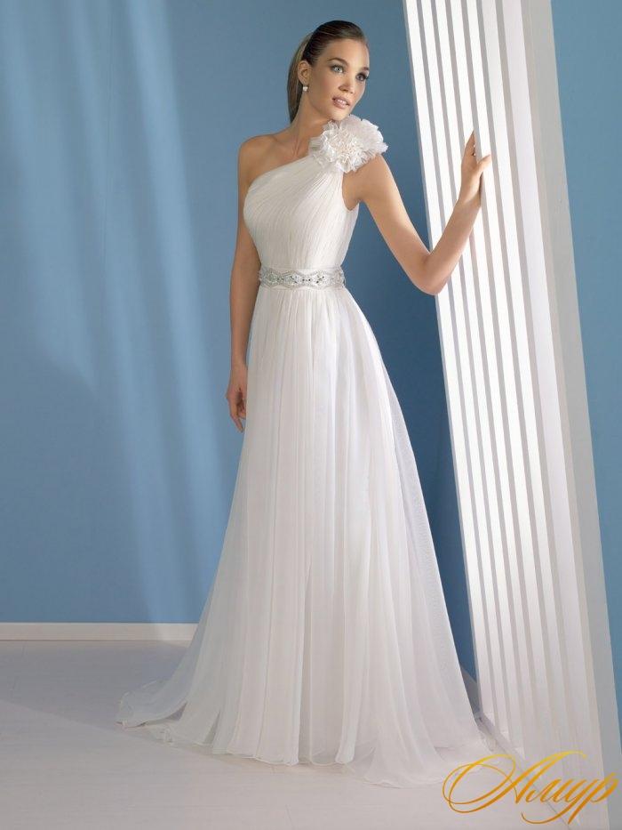 Свадебное платье греческий стиль.