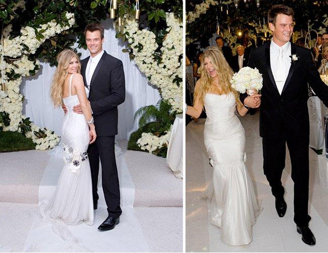 Свадебные платья - fergie