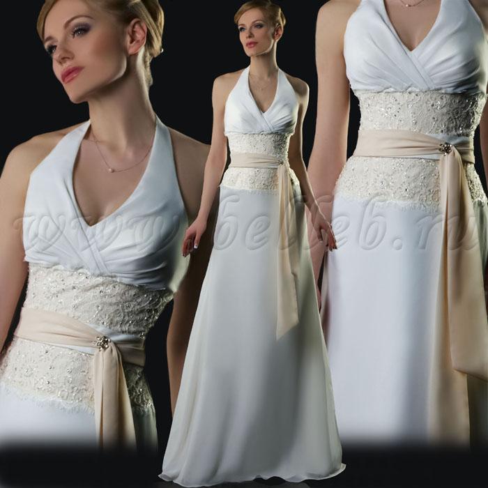 Свадебное платье от Chanel Высокая Мода