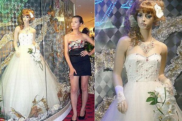 Самое дорогое свадебное платье в мире