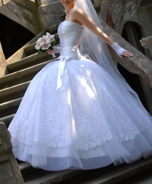 самое шикарное свадебное платье (30 фото)| Стильные актуальные