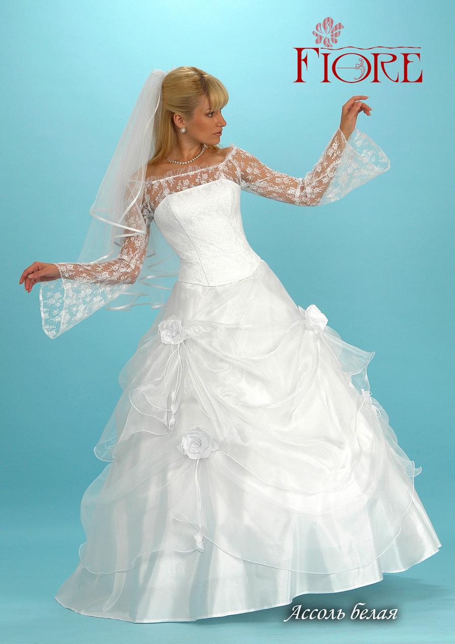 Подшить свадебное платье 10