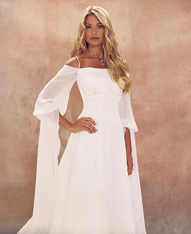 Элегантные свадебные платья.