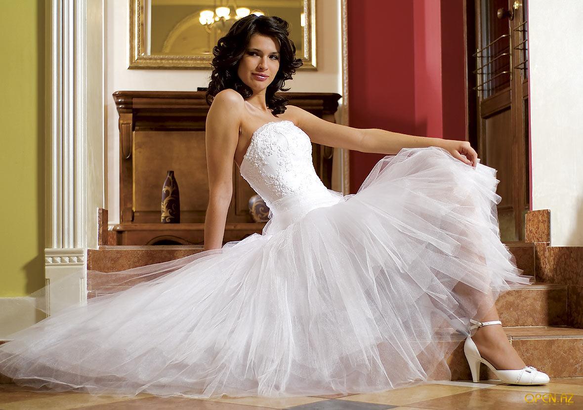 Комментарий: Платья 2013 для полных с широкими... короткие пышные свадебные платья