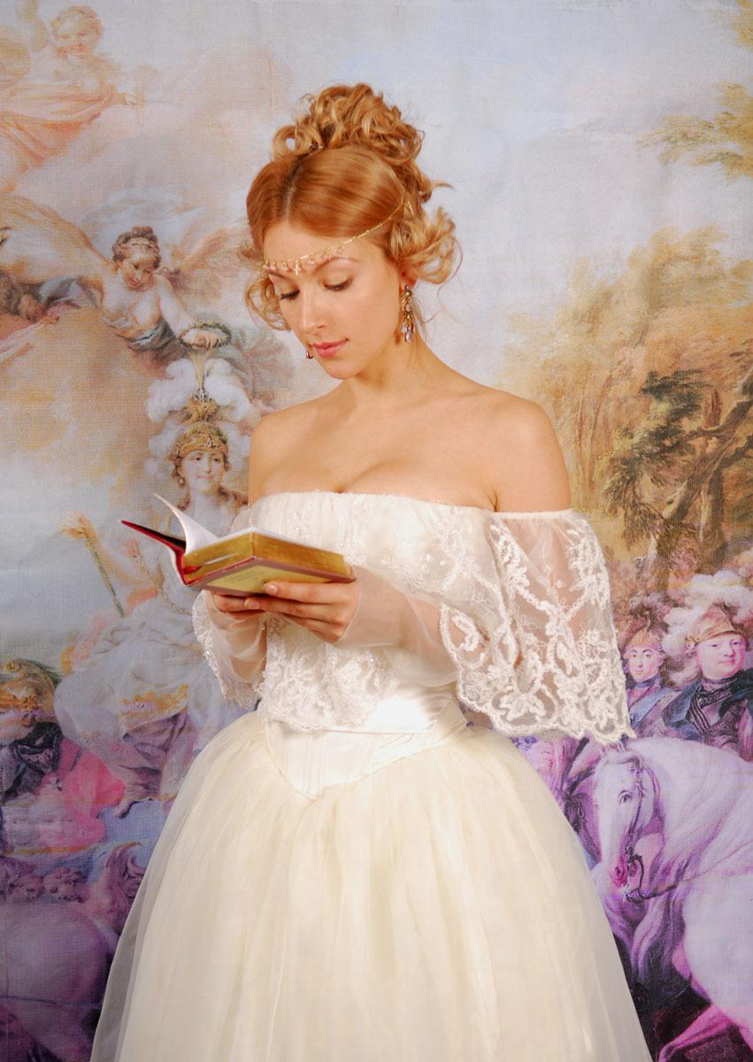 Прически романтизма 19 века